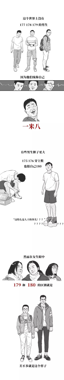 170cm男生的痛