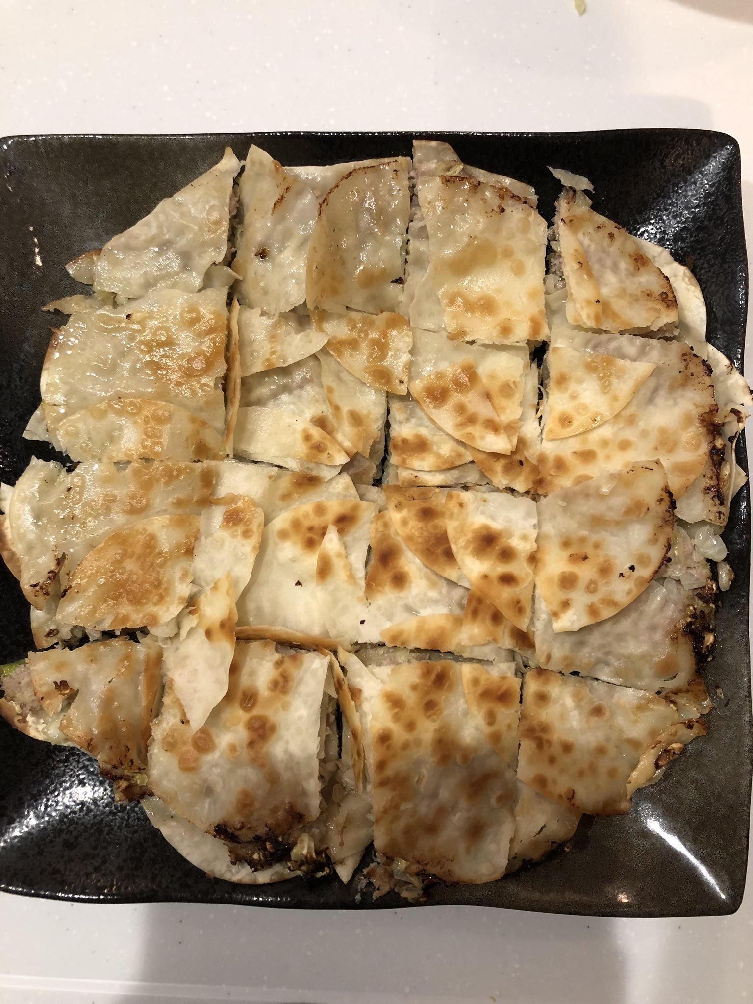 岛国一位推主表示,今天懒得包饺子了...也是一种新颖的办法 涨姿势 第4张