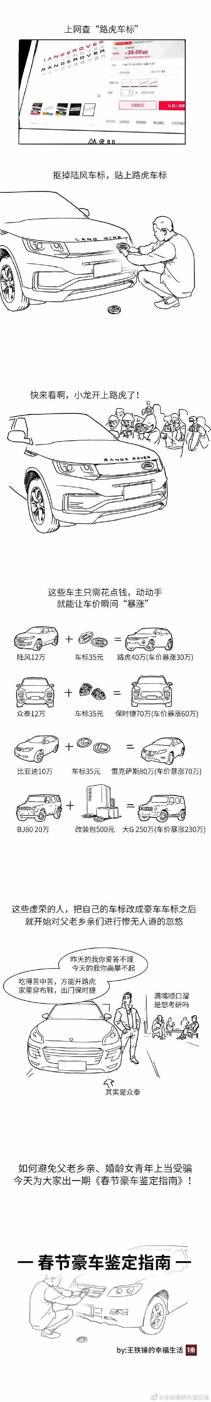 春节防装逼必备:假豪车鉴定指南  liuliushe.net六六社 第2张