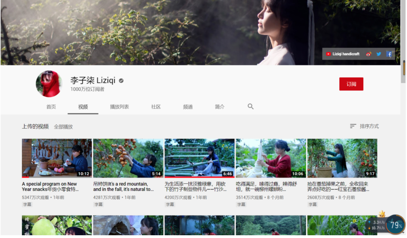 李子柒YouTube粉丝破千万,为什么是她重新定义了中国公主? 涨姿势 第1张
