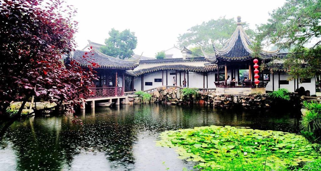 1.6亿中式桃花源,5亩苏州园林私家豪宅长什么样 涨姿势 第1张