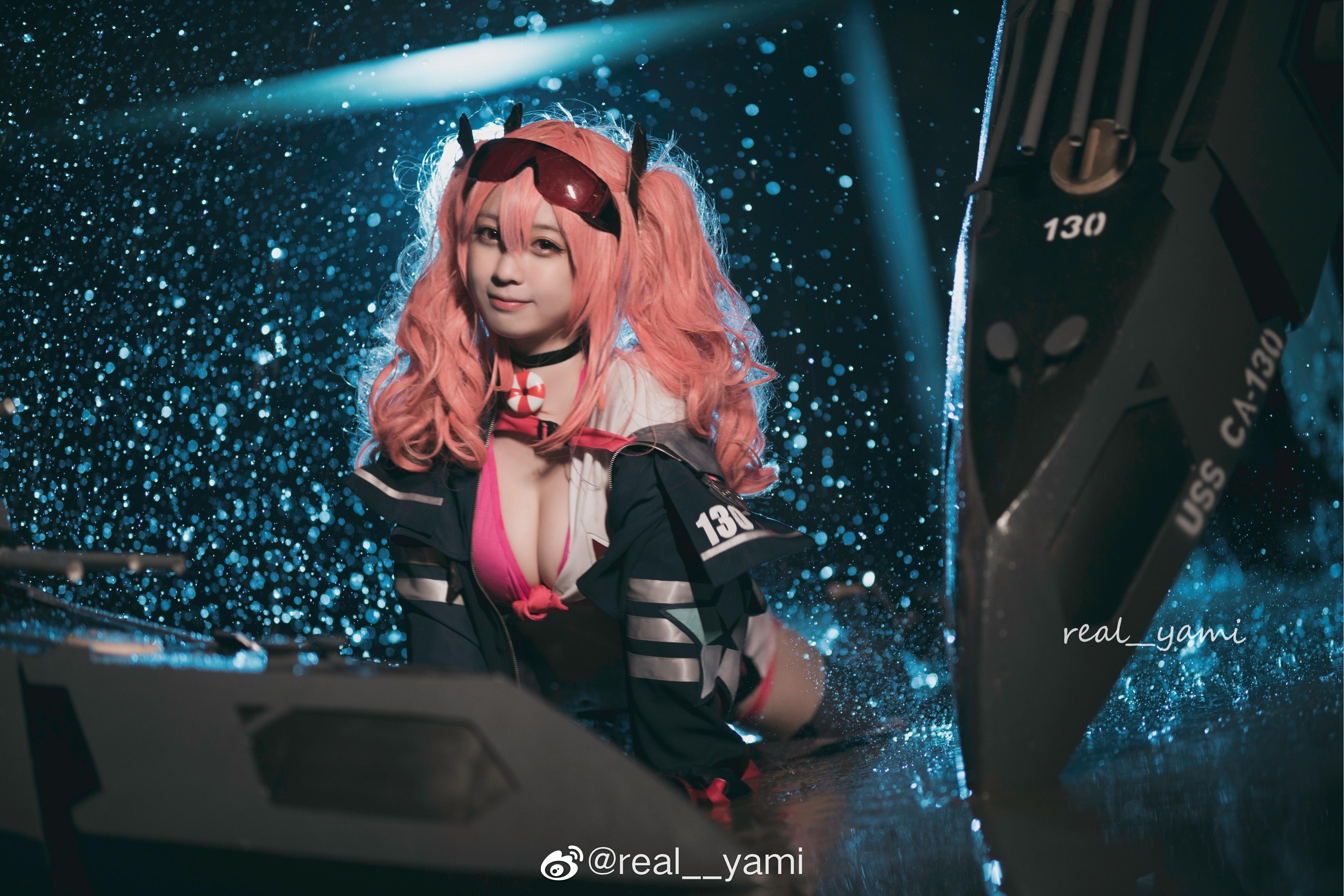 小可爱来了@real__yami 碧蓝航线3周年,太可耐了! 爱看资源网整理发布www.qqloser.com