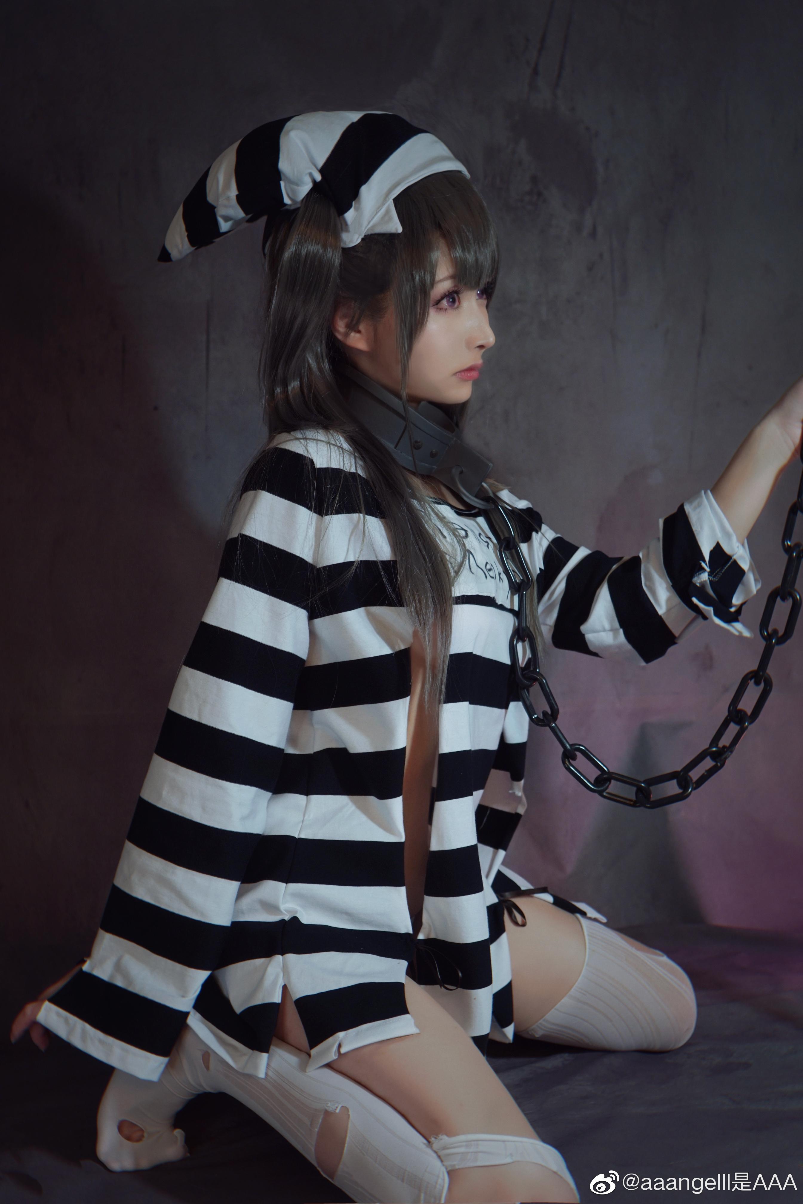 [COS正片] 碧蓝航线 水星纪念 囚牢与诱惑 aaangelll是AAA COSPLAY-第11张