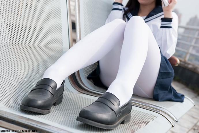 喵喵的白丝水手服 清纯丝袜