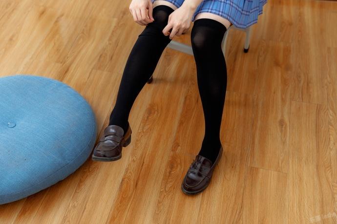 黑丝方格裙 jk 少女 清纯丝袜