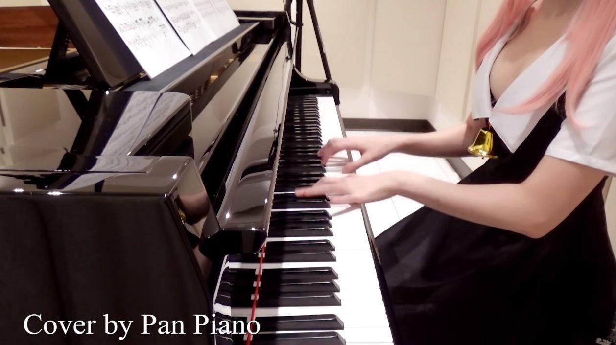 最胸钢琴家Pan Piano将COS与音乐结合吸155万订阅 宅男先生 热图5