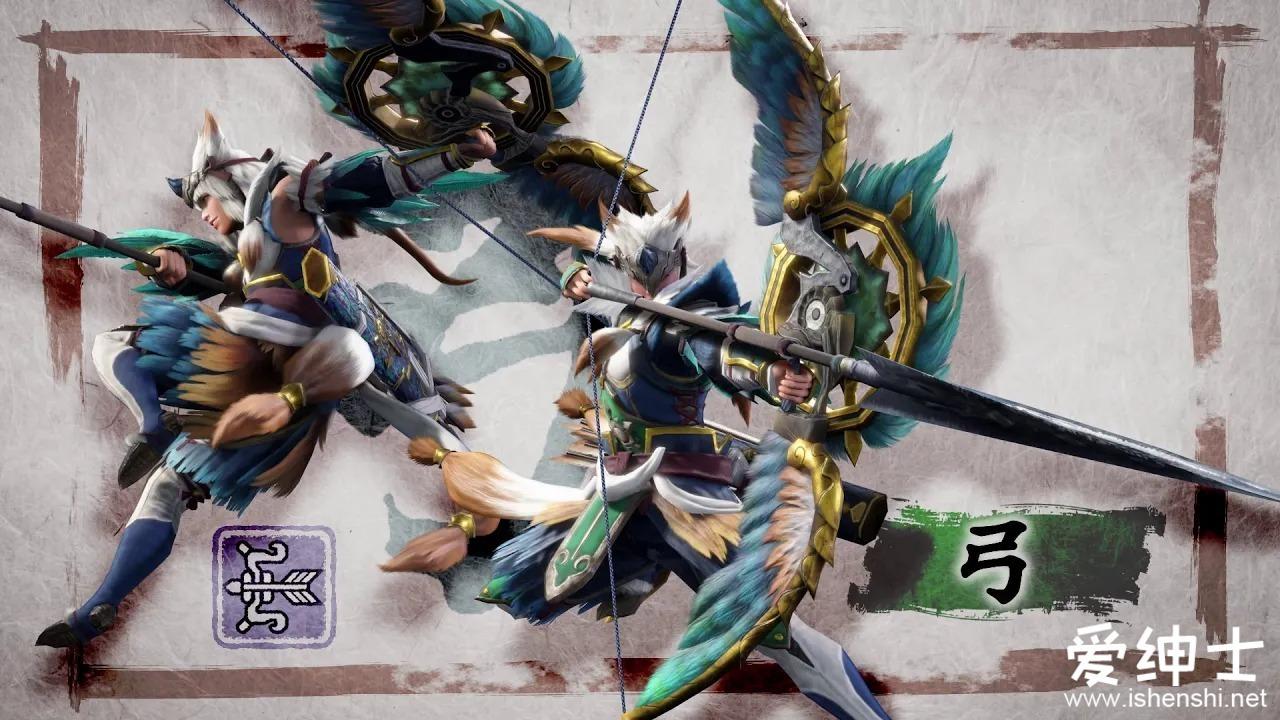 《怪物猎人崛起》发布多款武器演示动画,动作加入了配音哟!