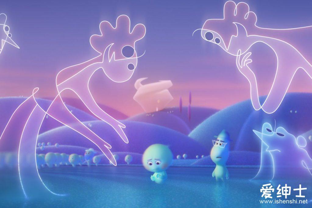 《灵魂急转弯Soul》:皮克斯动画再创新作,灵魂与生命意义的探索!