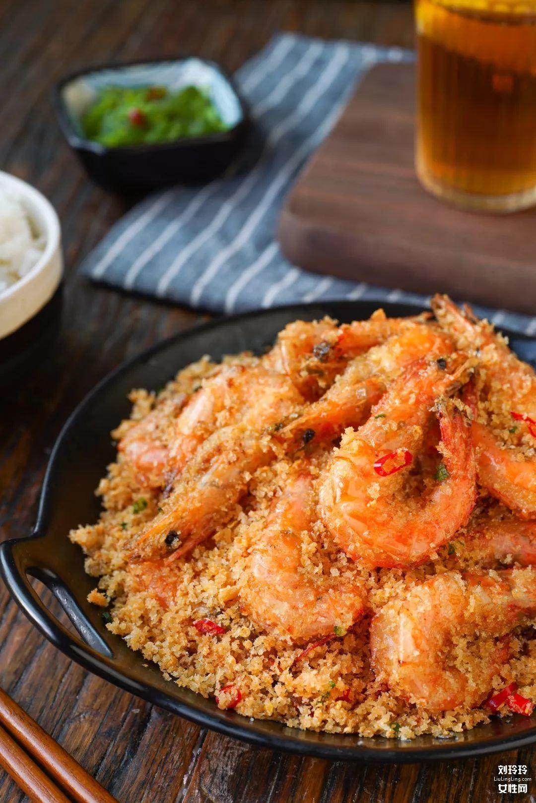 避风塘香酥虾的做法 香到让你连虾壳都吃完!1