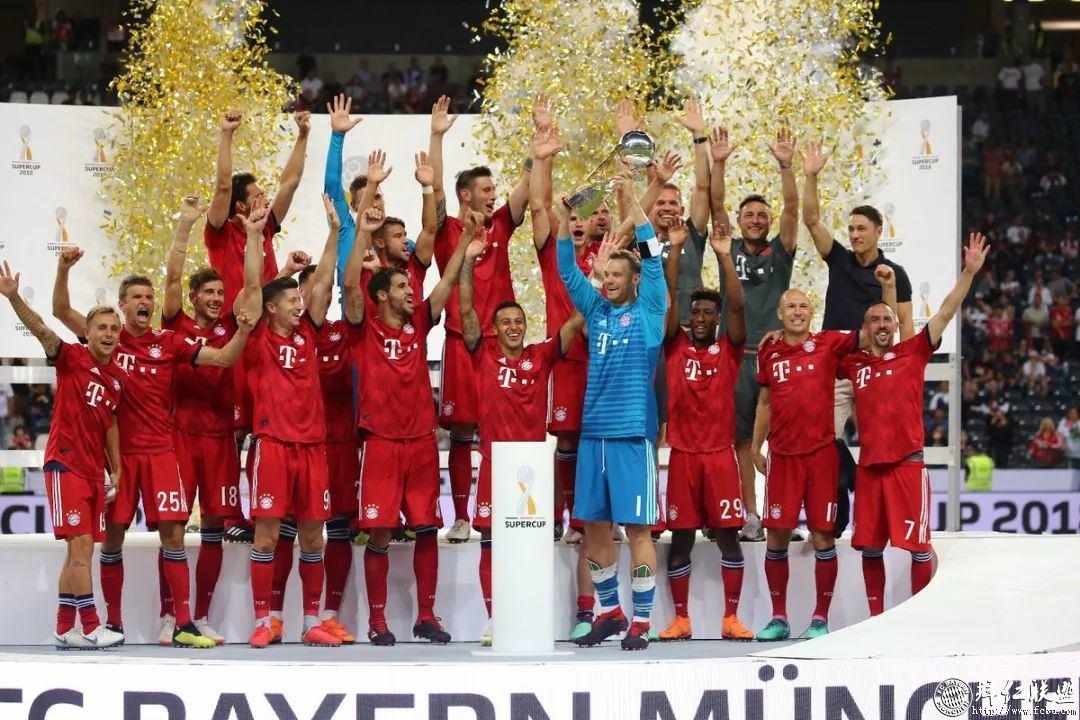 德国超级杯三连冠!拜仁5:0法兰克福1