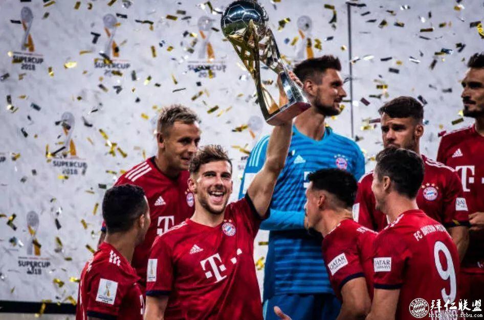 德国超级杯三连冠!拜仁5:0法兰克福15