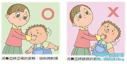 这种秋季多发的小毛病最近吓坏了很多妈妈们!孩子流鼻血千万别这么做