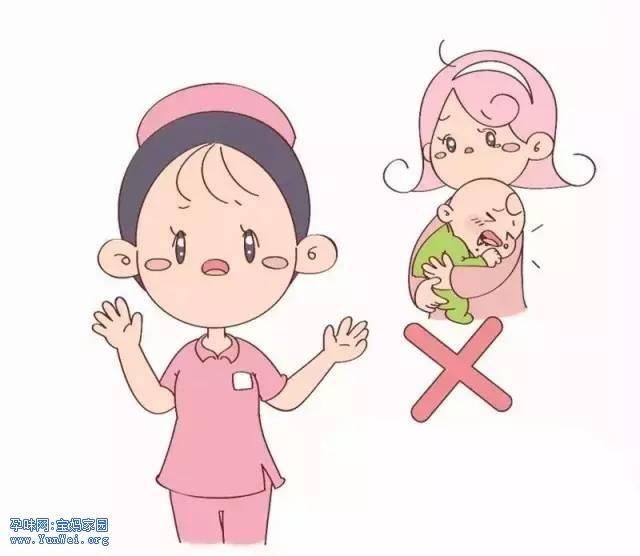 如何正确护理和预防宝宝呛奶(图解)