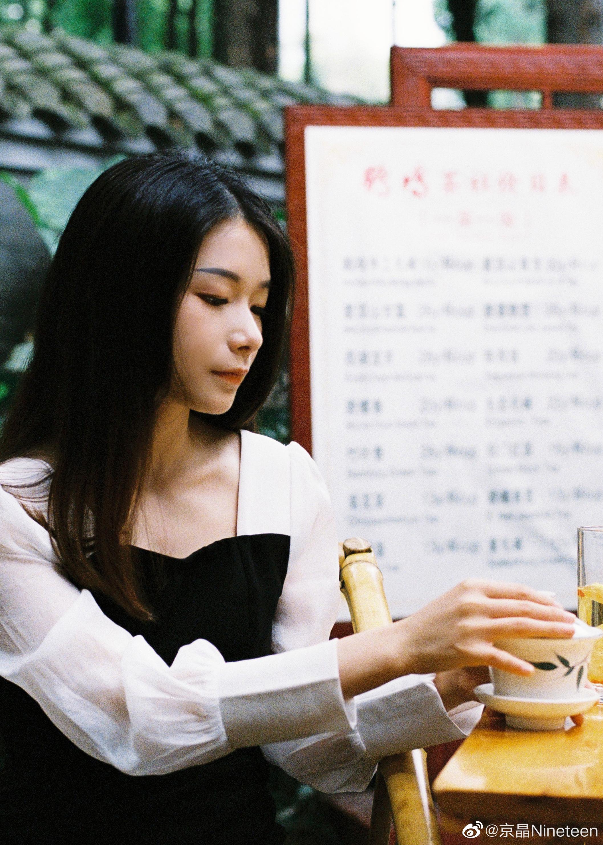 公主日记京晶的客片分享美女