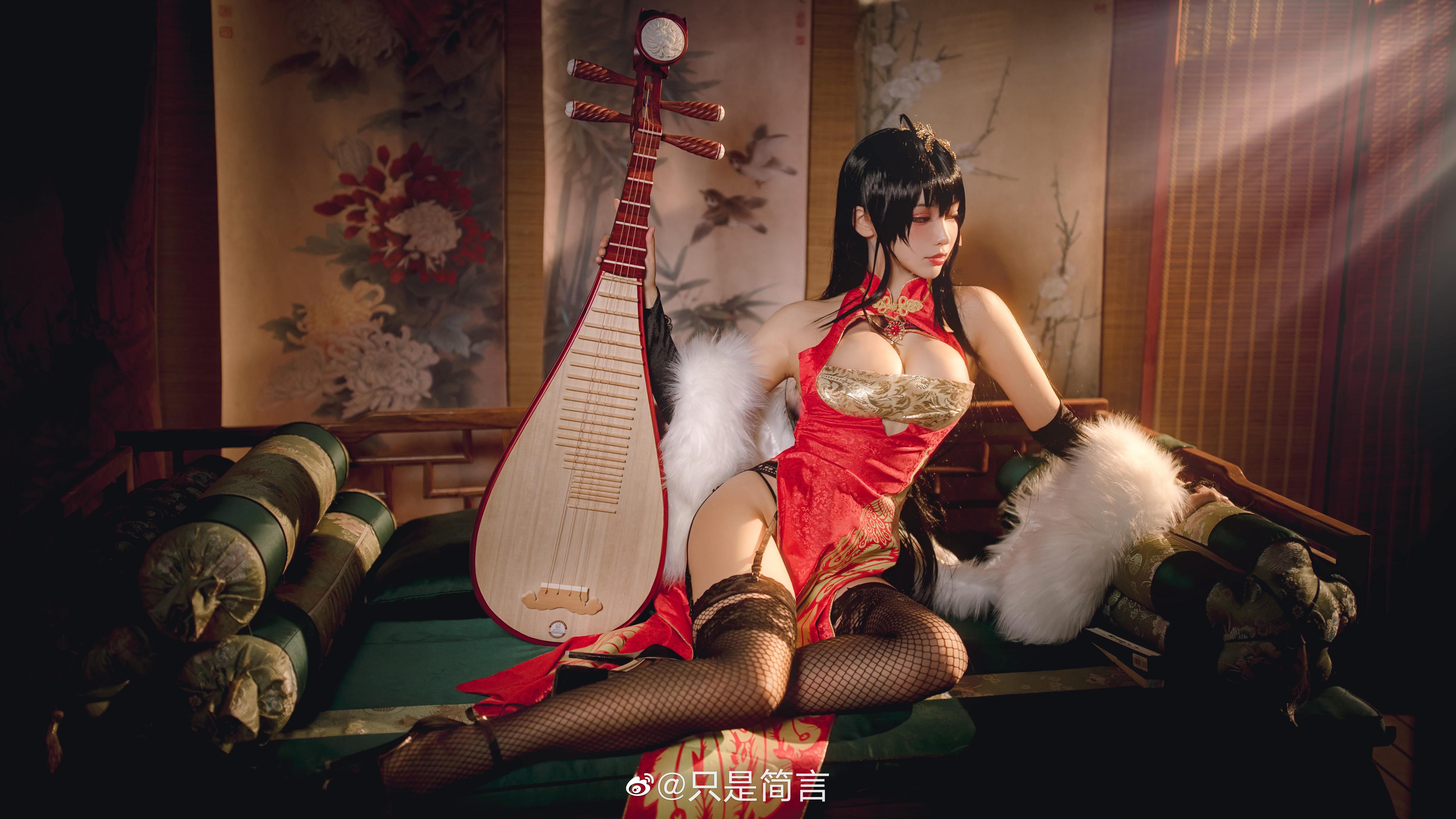 碧蓝航线 大凤新春旗袍 Cosplay-第4张