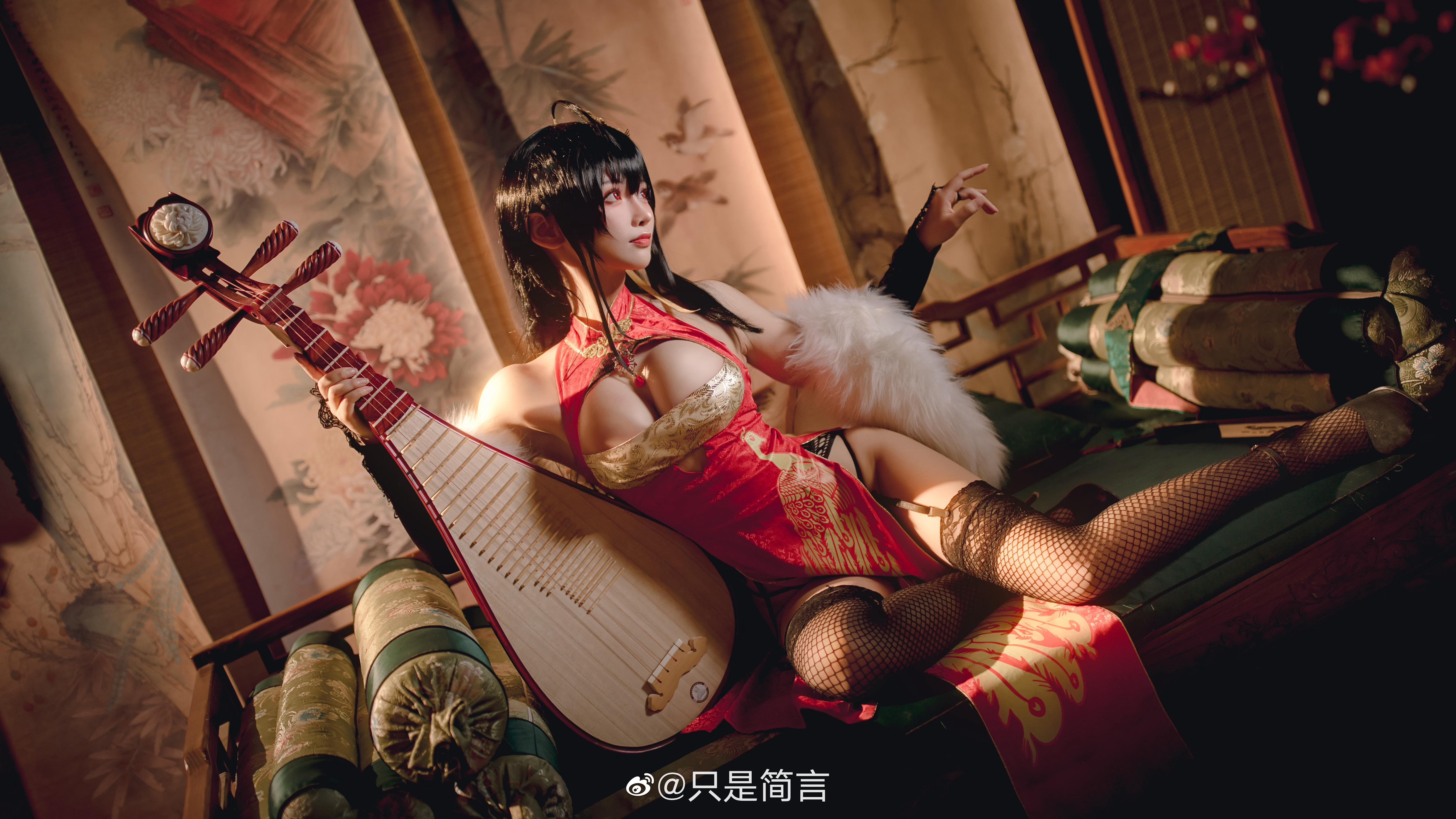 碧蓝航线 大凤新春旗袍 Cosplay-第7张