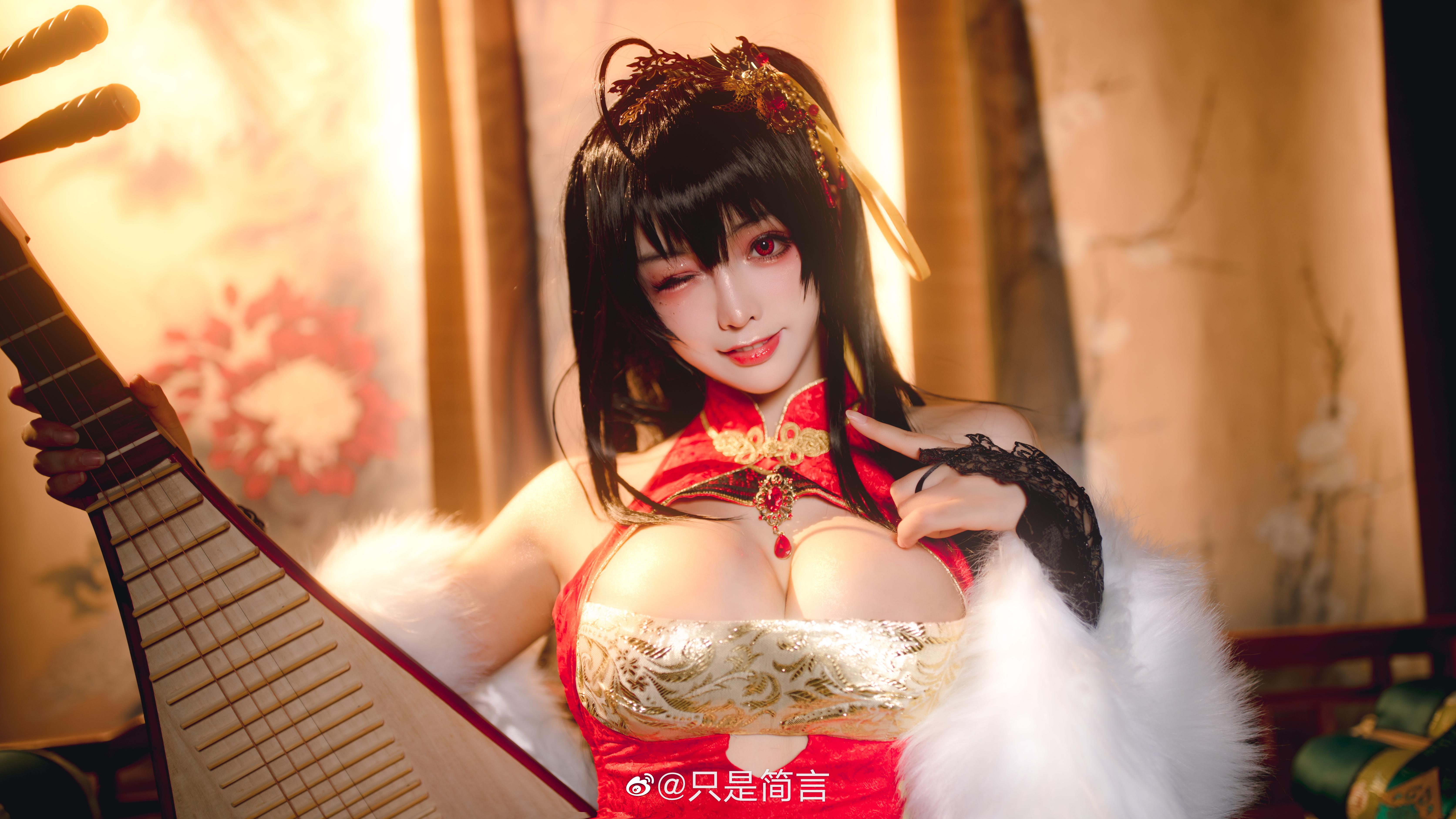 碧蓝航线 大凤新春旗袍 Cosplay-第5张