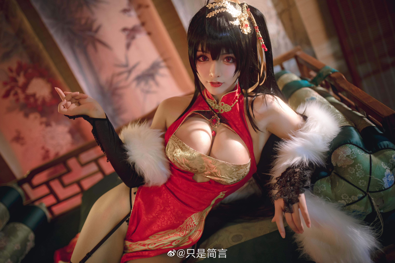 碧蓝航线 大凤新春旗袍 Cosplay-第2张