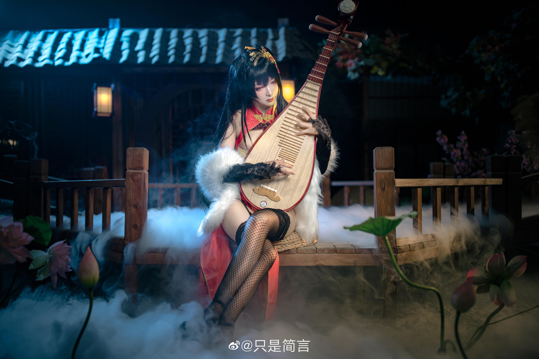 碧蓝航线 大凤新春旗袍 Cosplay-第11张