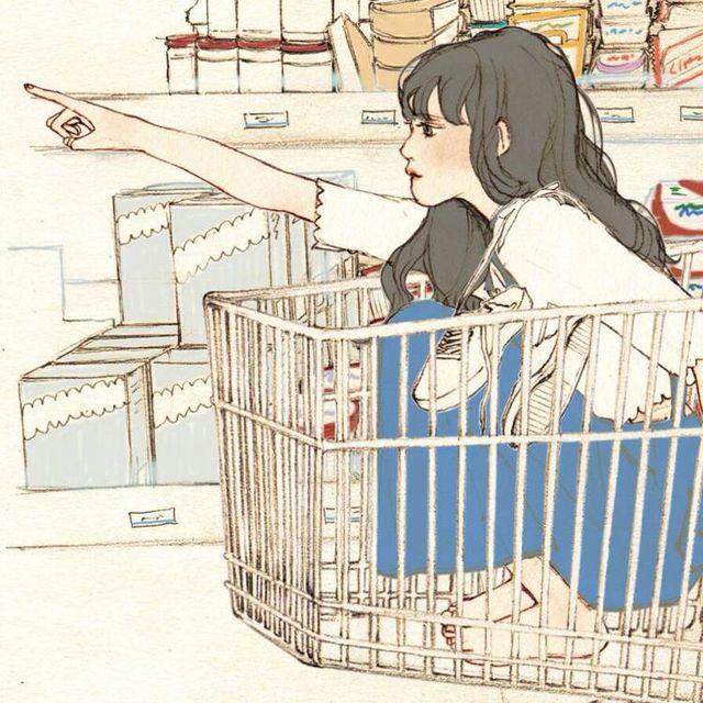 超市购物温馨高清情侣头像 第23张