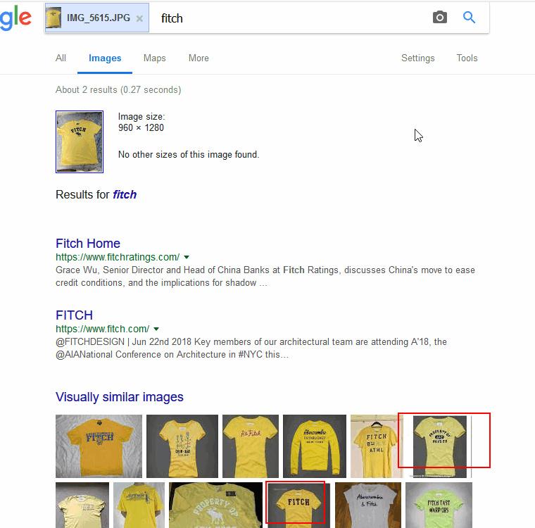 以图搜图、图像识别已经厉害到什么程度了?