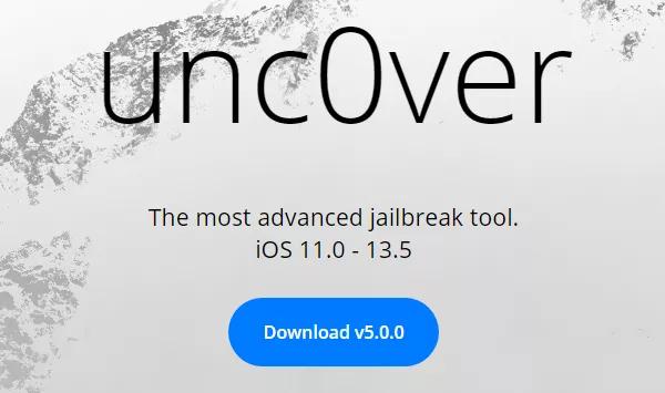 unc0ver 5.0.0发布,可越狱A12和A13的iOS 13.5设备-福利巴士