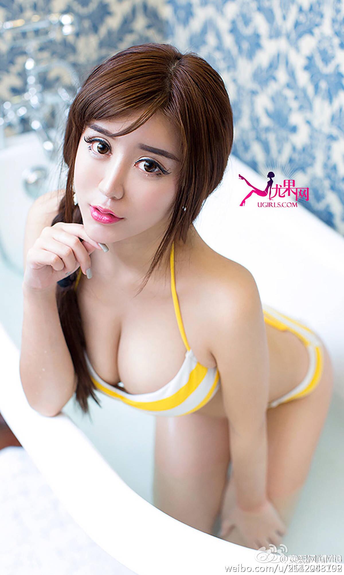 羙熙MiuMiu描眉画眼等春来  姹紫嫣红牡丹开 _美女福利图片