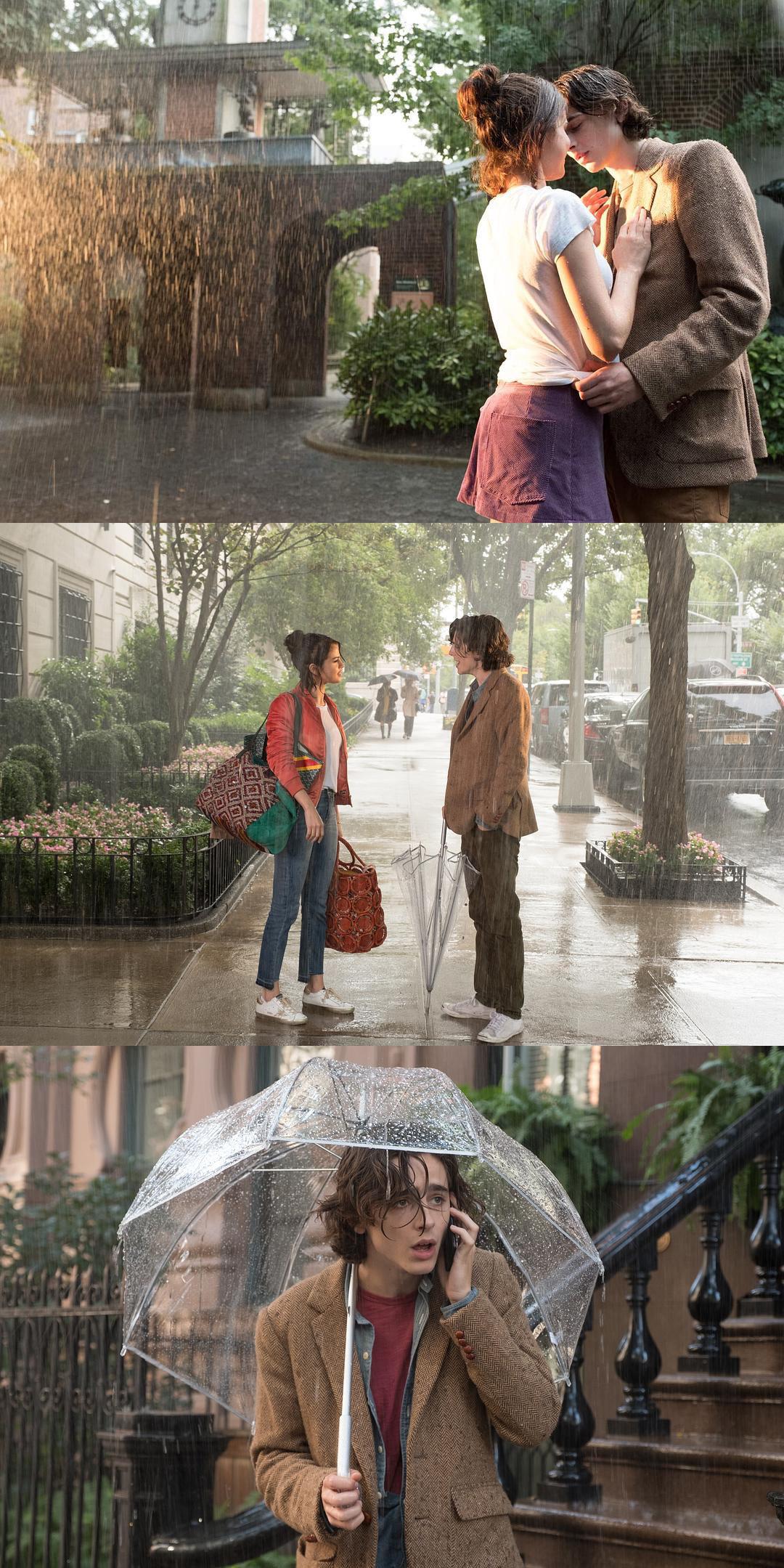 影视资讯9部关于下雨的浪漫电影1.《纽约的一个雨天》...