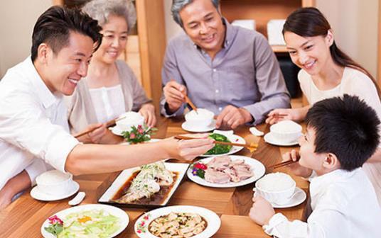 饭桌上的教养,将决定孩子日后的成功程度 生活常识 第1张