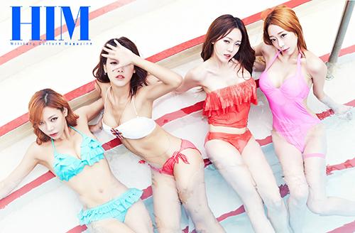 韩国女团Bambino朴恩率 风格偶像 图1