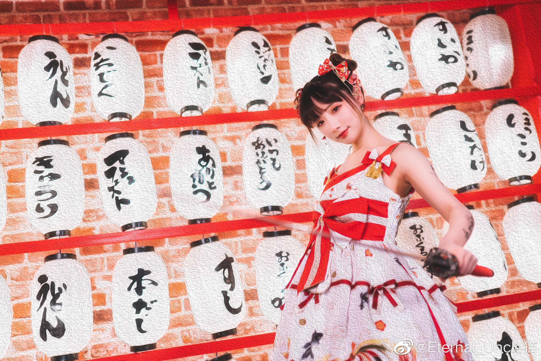 一组日系片子,lolita+日系棚+战斗风的奇妙混搭 Cosplay-第6张