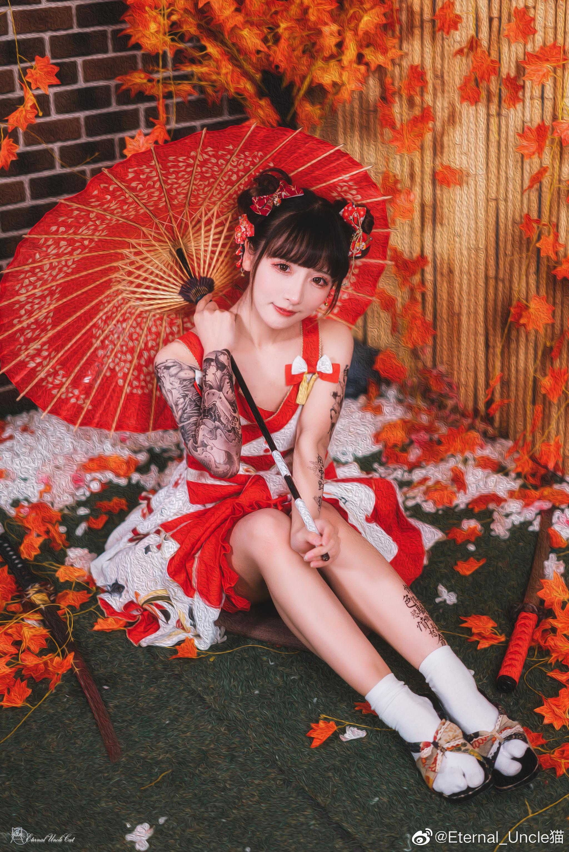 一组日系片子,lolita+日系棚+战斗风的奇妙混搭 Cosplay-第1张