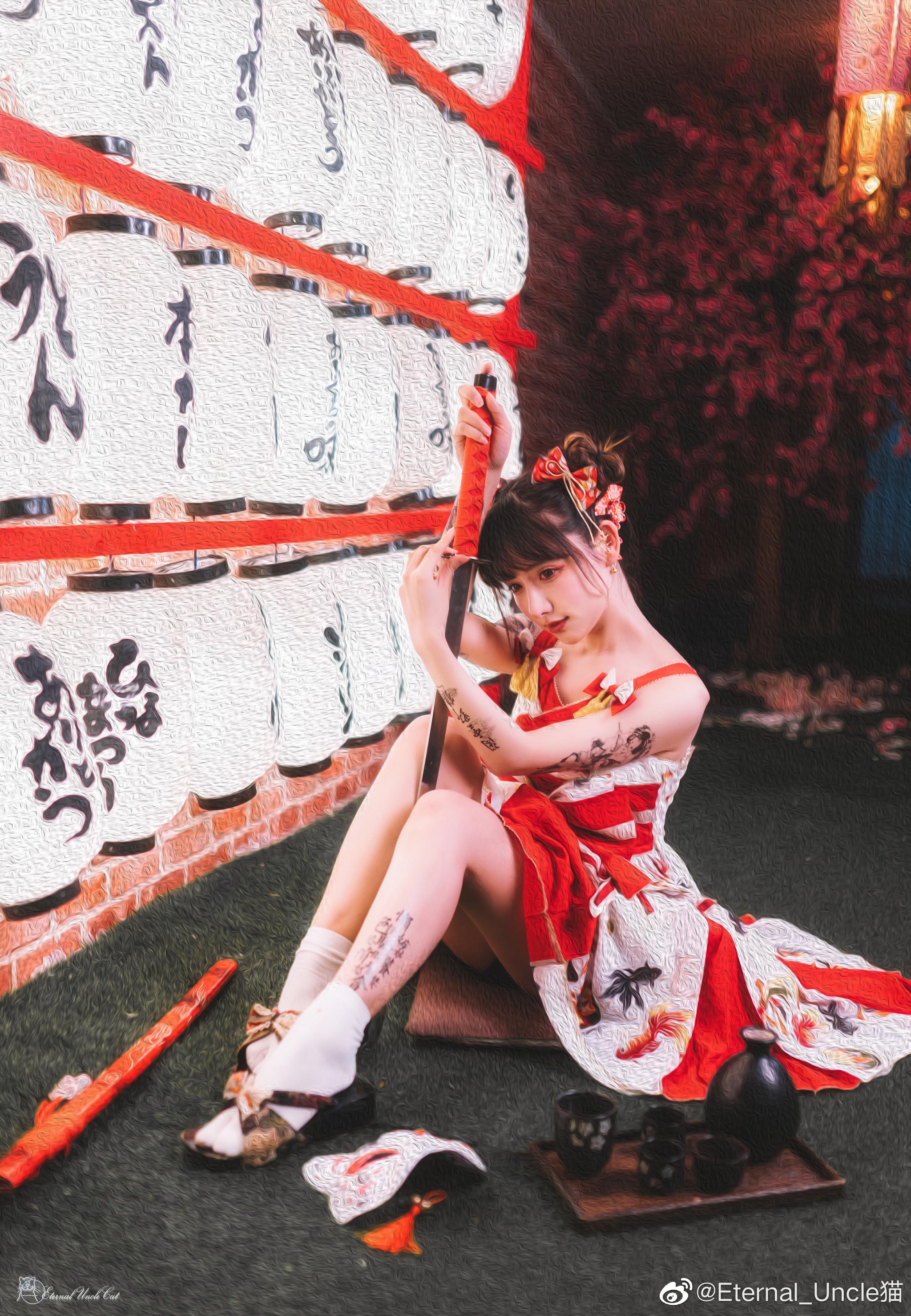 一组日系片子,lolita+日系棚+战斗风的奇妙混搭 Cosplay-第13张