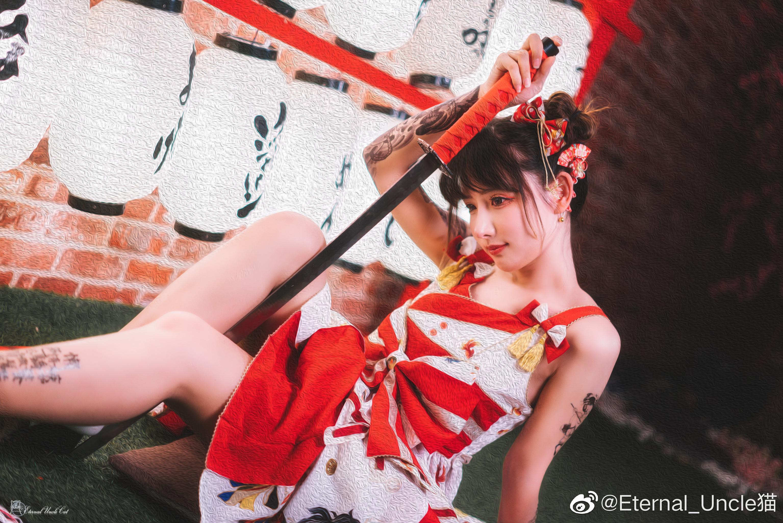 一组日系片子,lolita+日系棚+战斗风的奇妙混搭 Cosplay-第14张