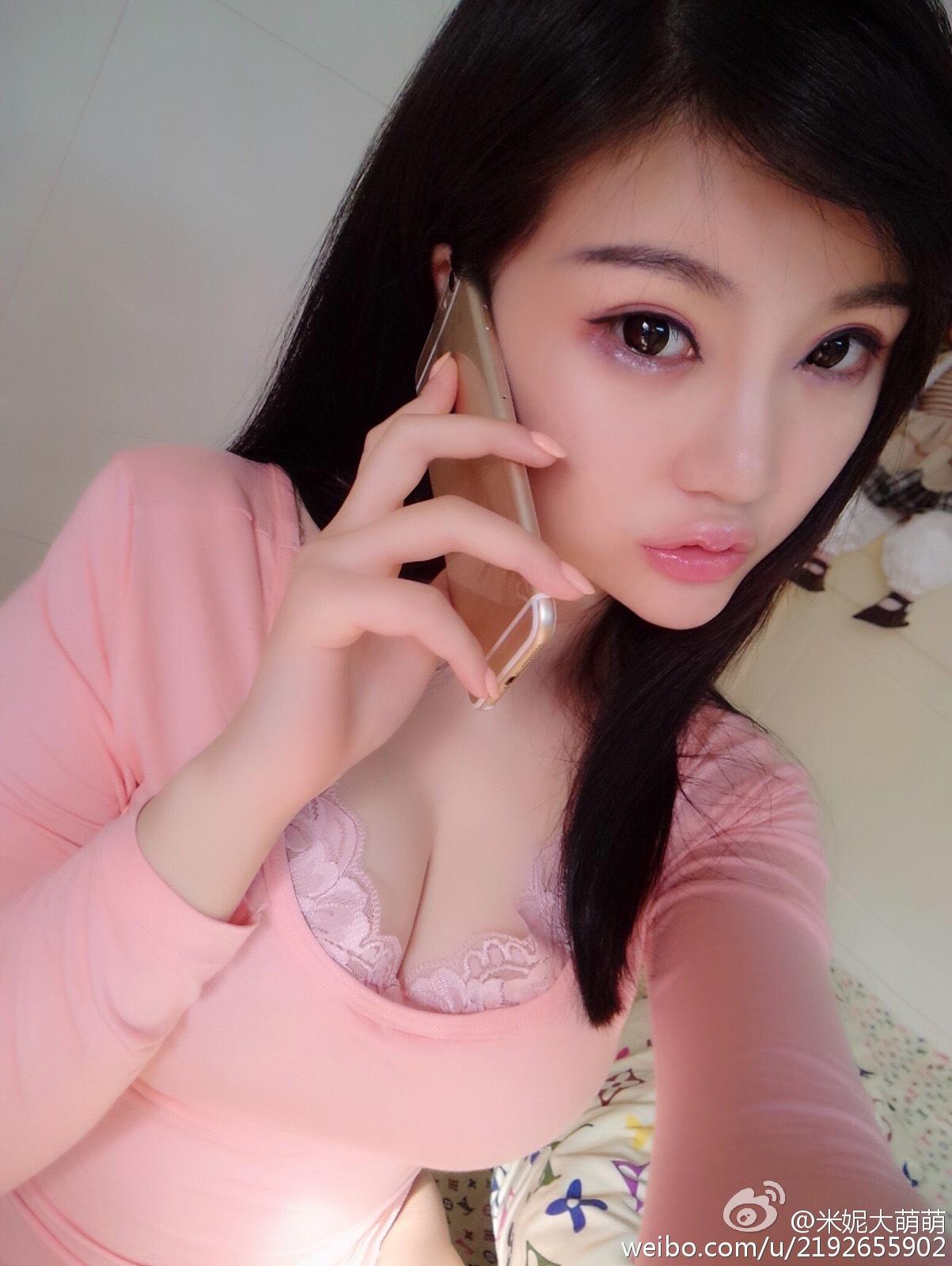米妮大萌萌自戀自戀_美女福利图片
