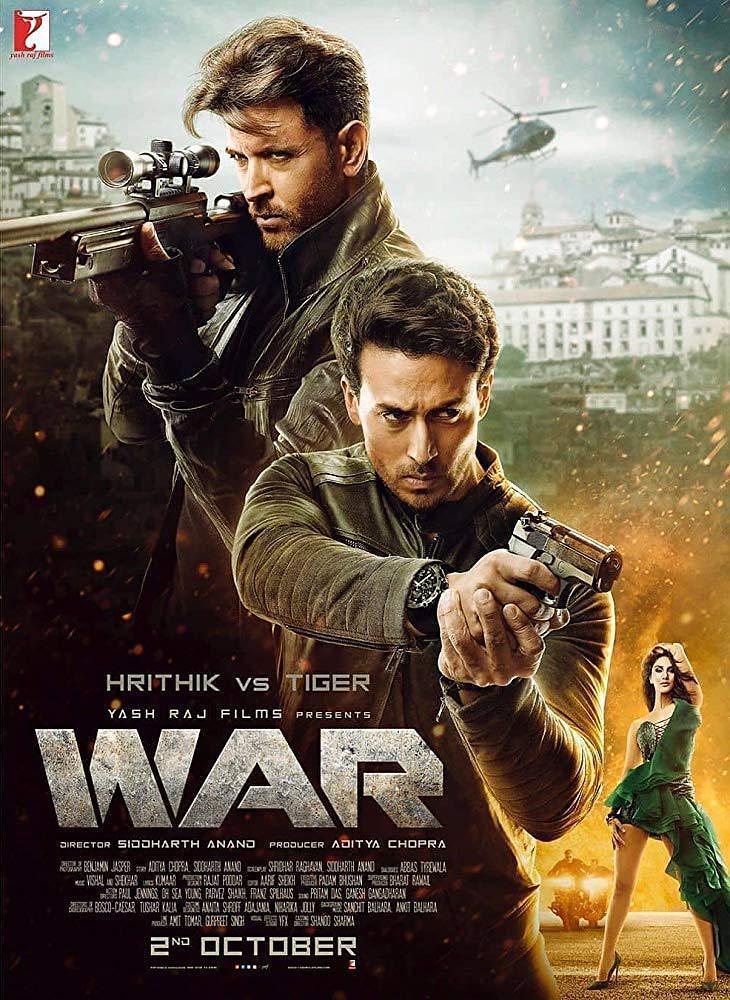 2019[印度/动作/惊悚][宝莱坞双雄之战/War]百度云高清下载图片 第2张