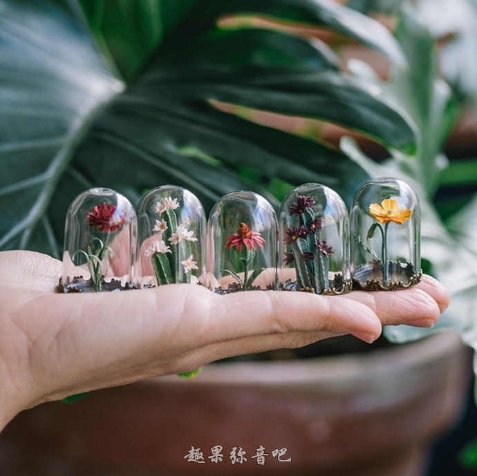 艺术家折出纸盆栽,栩栩如生的作品让人分不清真假!-爱趣猫