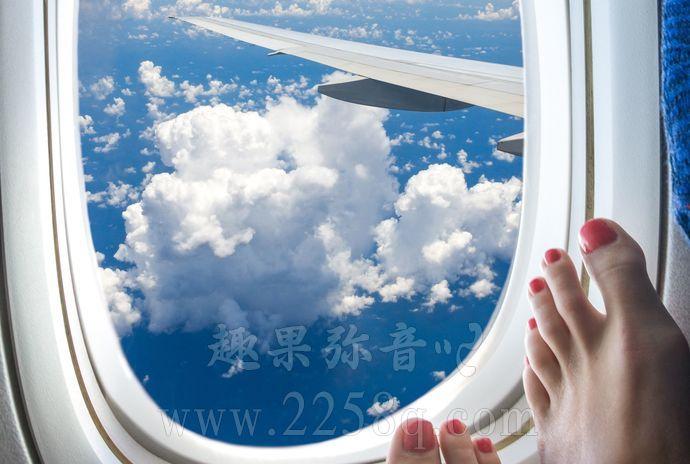 不能在飞机上脱鞋的四个原因-爱趣猫