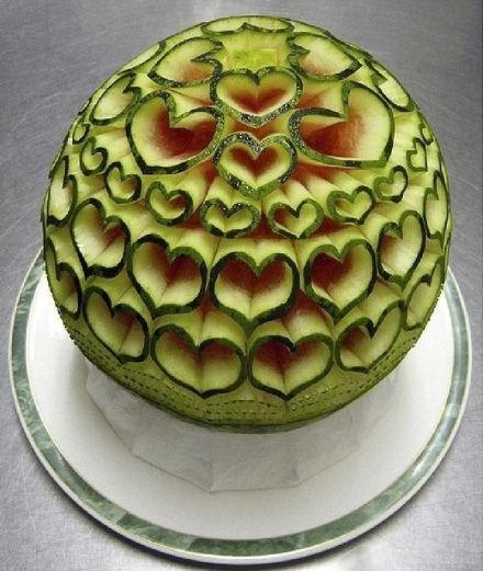 这西瓜,谁还舍得吃啊~