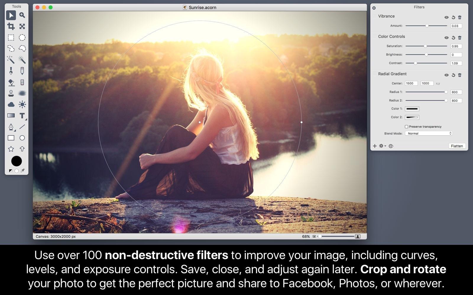 Acorn 6.6.1 优秀的轻量级图形处理工具-马克喵