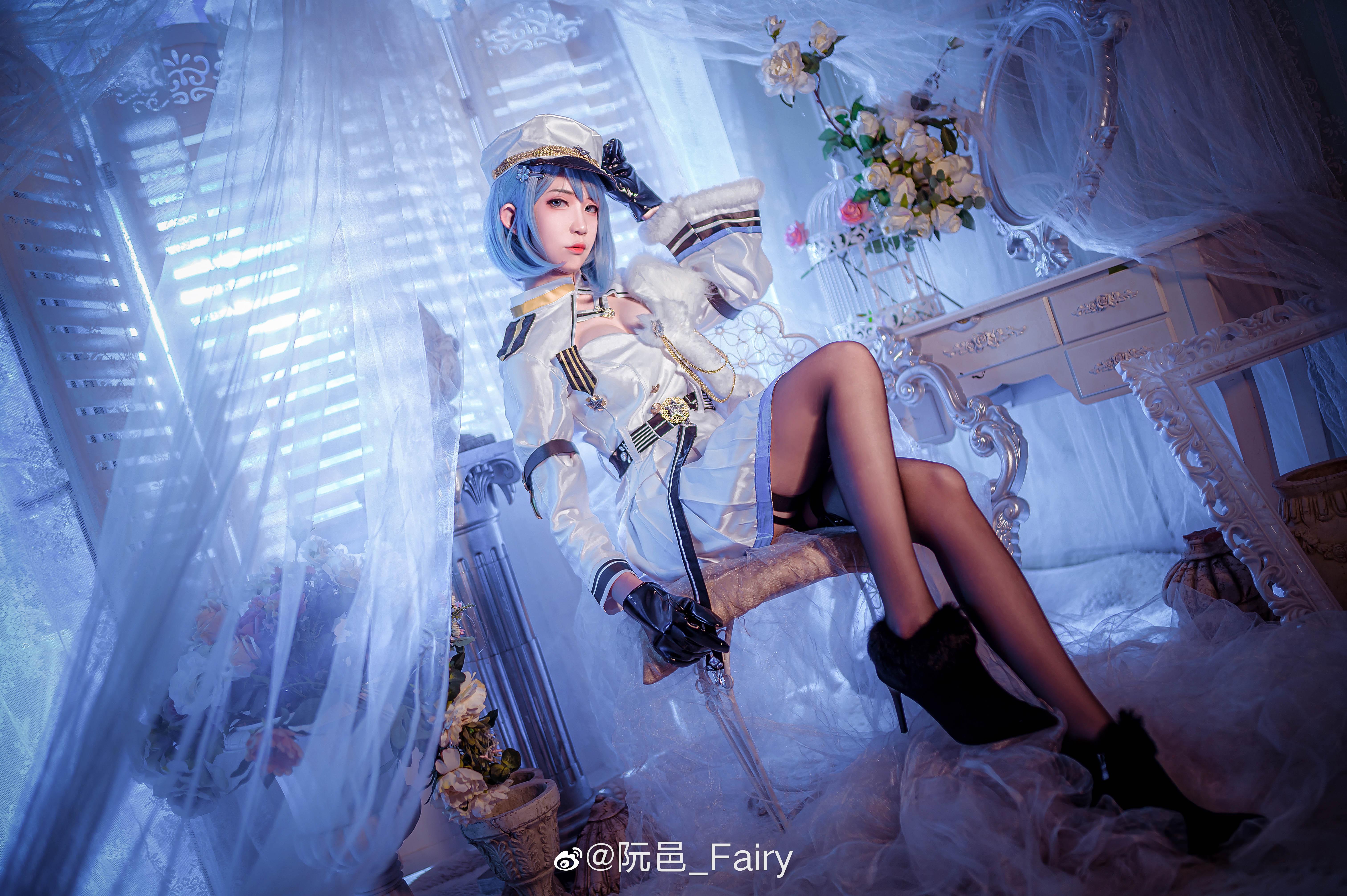 [COS]碧蓝航线 恰巴耶夫 @阮邑_Fairy COSPLAY-第4张