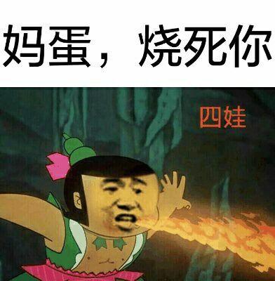 妈蛋,烧死你!