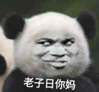 老子日你妈(熊猫)