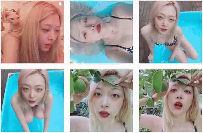韩国女艺人崔雪莉确认自杀 因与网友打起口水仗