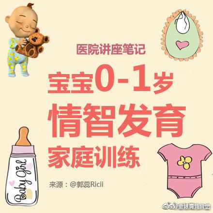 宝宝0-1岁情智发育家庭训练