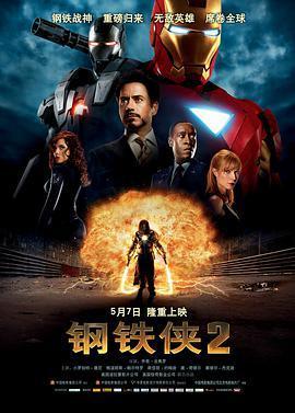 钢铁侠2的海报