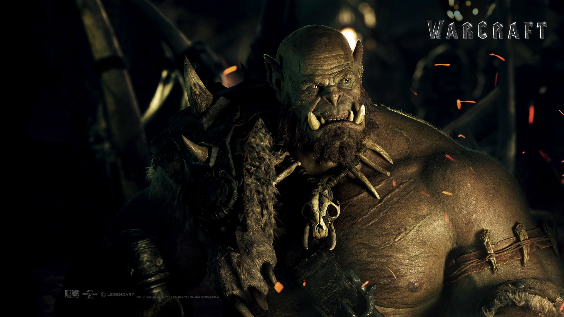 电脑壁纸 | 影视壁纸-魔兽Warcraft-2  高清壁纸 第12张