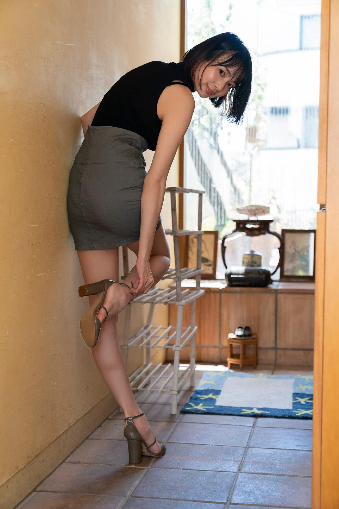 和岡田紗佳过着梦幻般的同居生活!週刊ポストデジタル写真集插图4