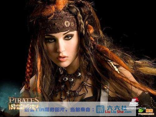 电影届神级作品《加勒比女海盗2》艾薇片中的** liuliushe.net六六社 第2张