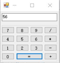 C#用委托机制实现一个简单的计算器